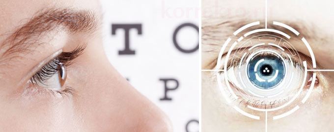 Восстановление зрения после лазерной коррекции зрения