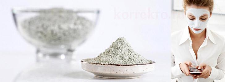 Маска из белой глины для подтяжки кожи