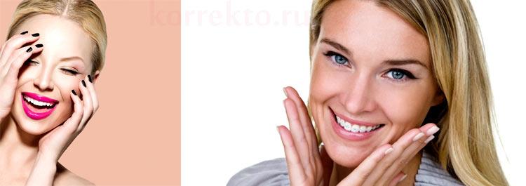 Эстетическая коррекция зубов
