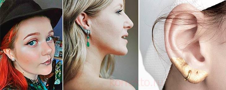 Какой выбрать цвет для макияжа ушей