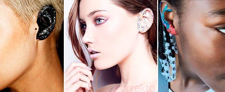 Как лучше красить уши