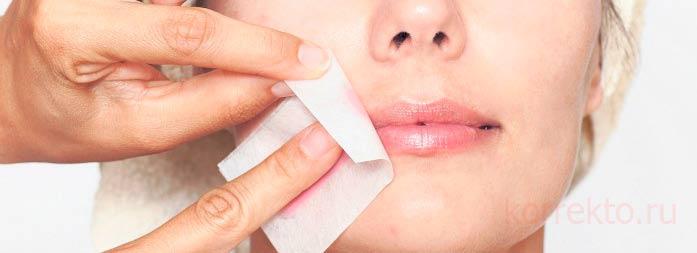 Как соблюдать профилактику от морщин над губой