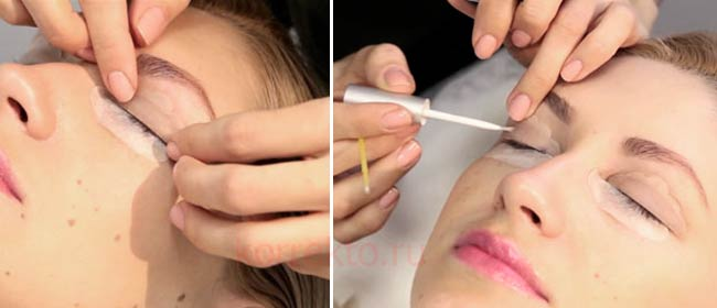 Как проводится процедура ламинирования ресниц пошагово