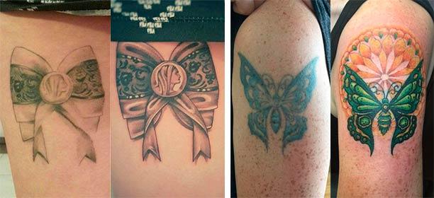 Когда нужно делать коррекцию татуировки