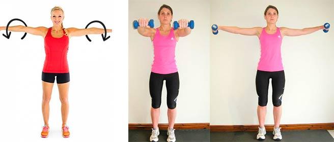 Упражнения от полных рук
