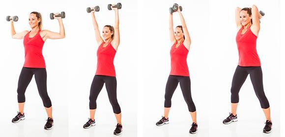 Эффективные упражнения длч полных рук