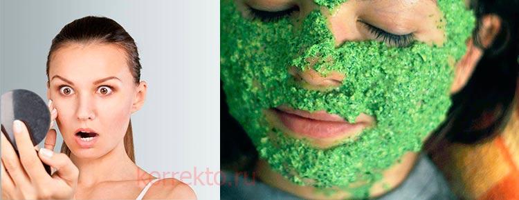 Какие кремы и маски помогают от покраснений и выраженных капиляров на лице