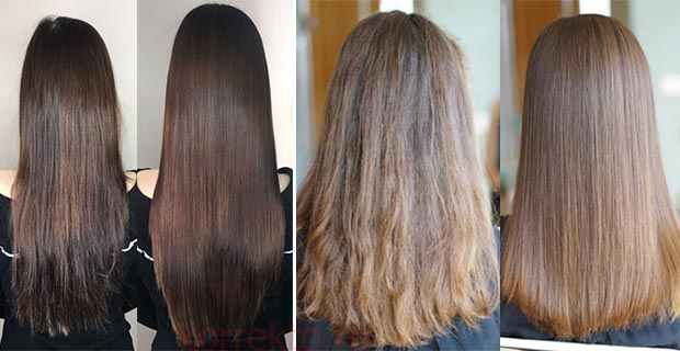 Результат процедуры ботокс волос