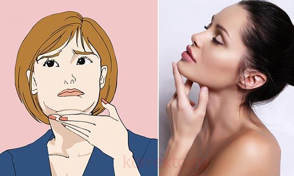 Как убрать дряблый второй подбородок после похудения