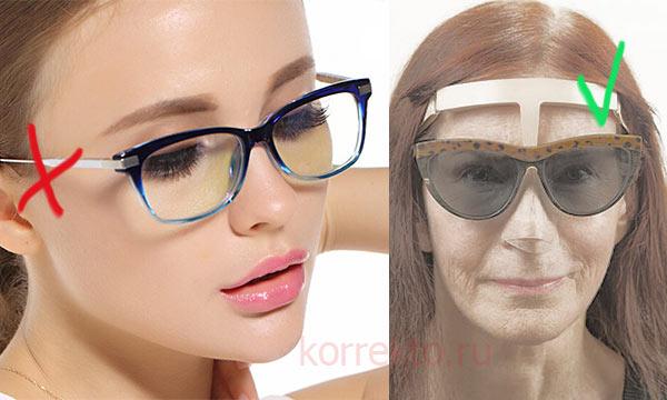 Можно ли носить очки после ринопластики