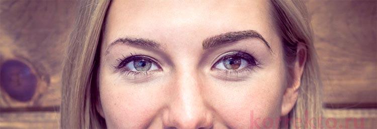 Через какое время делается коррекция после перманентного макияжа бровей