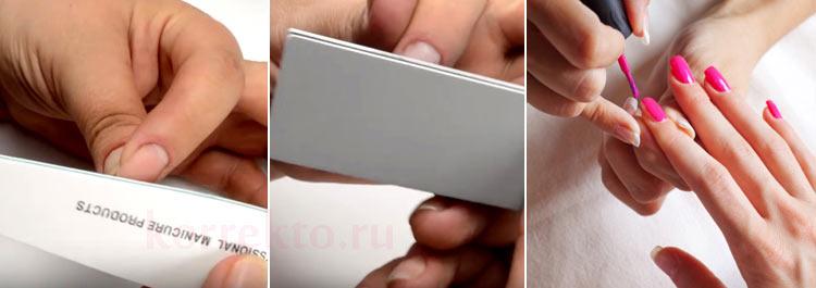 Как часто делать коррекцию ногтей