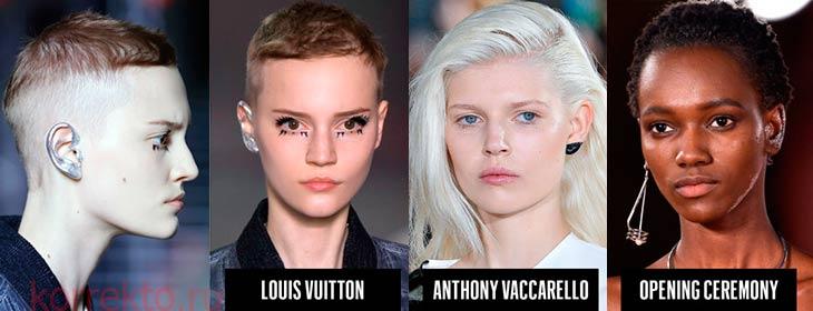 Кто ввел моду на макияж ушей