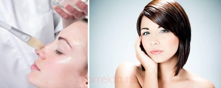Какие делают пилинги для чувствительной кожи
