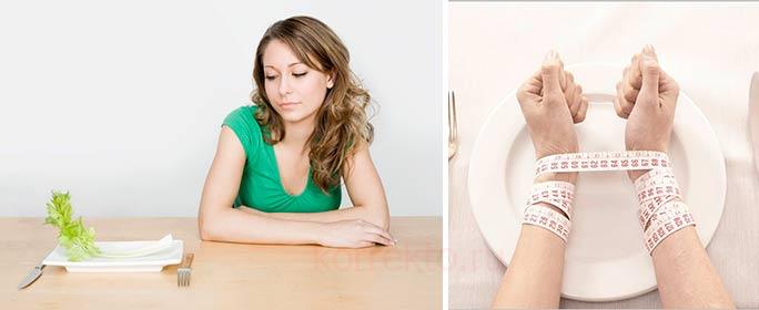 Какие применяют методики коррекции нарушений пищевого поведения