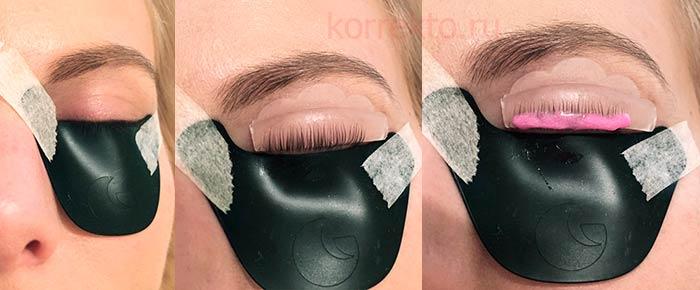 Как проводится lash botox