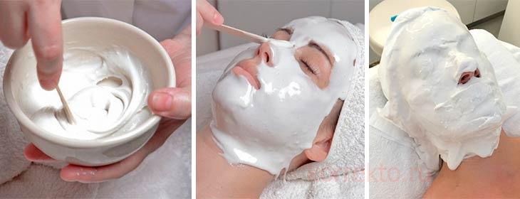 Как правильно разводить альгинатную маску
