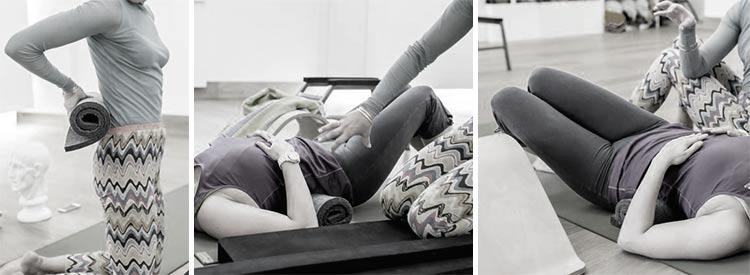Йога для позпоночника и носогубных складок