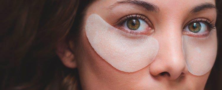 что делают гелевые пачти для глаз