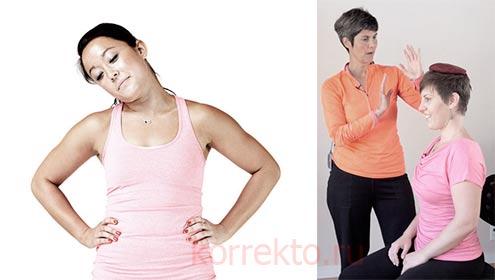 Какие упражнения способны удлинить шею
